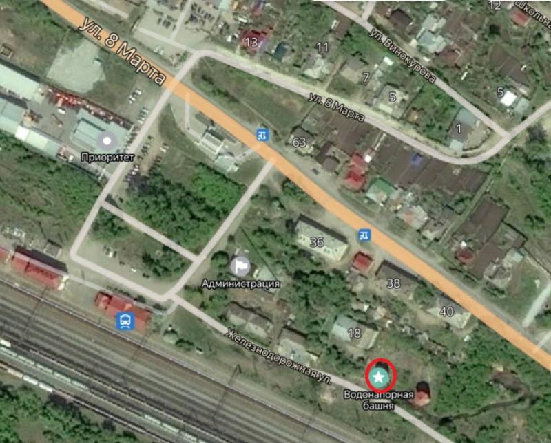 Местонахождение: Челябинская область, г. Миасс, ж/д ст. Миасс-1