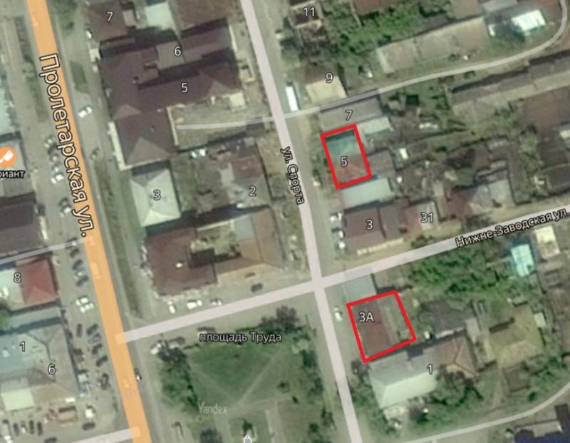 Местонахождение: Челябинская область, г. Миасс, ул. Спорта, 3а и 5-7