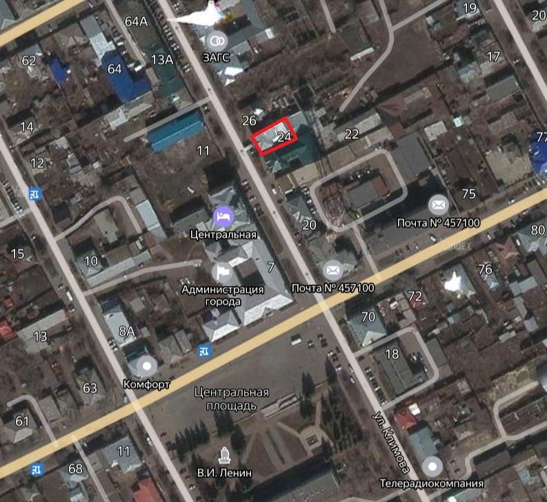 Местонахождение: Челябинская область, г. Троицк, ул. им. А.М.   Климова, 24