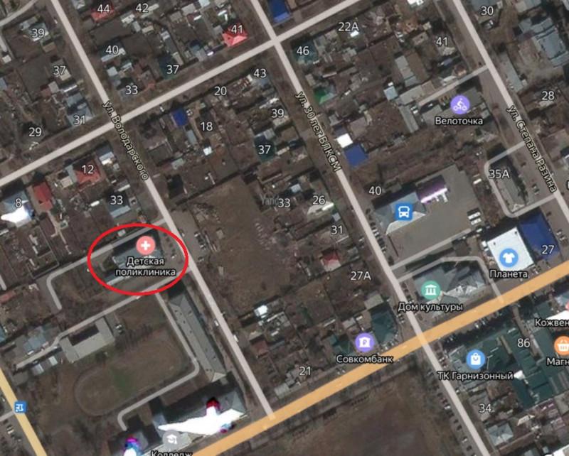 Местонахождение: Челябинская область, г. Троицк, ул. им. М.М.   Володарского, 31