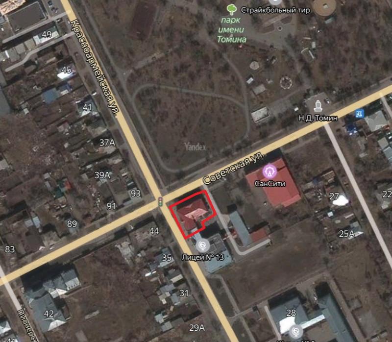 Местонахождение: Челябинская область, г. Троицк, ул. Красноармейская, 36