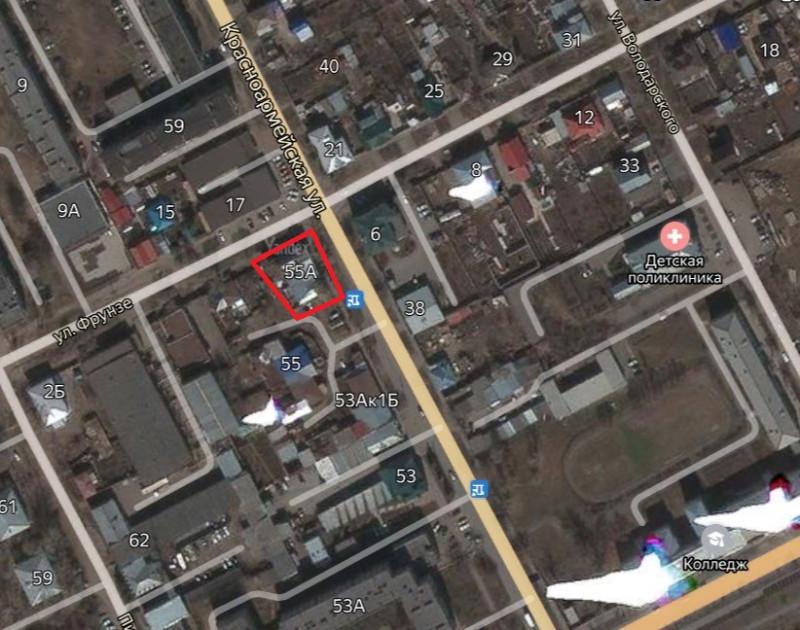 Местонахождение: Челябинская область, г. Троицк, ул. Красноармейская,   55 (55а)