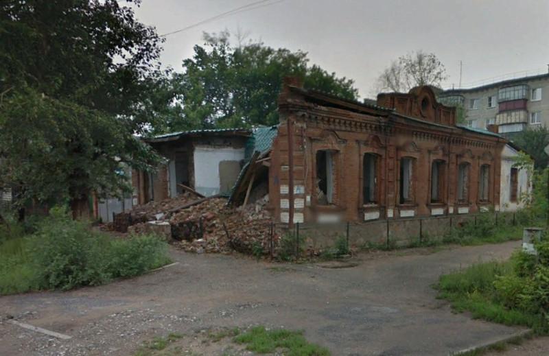 Красноармейская, 57. 2013 год. Скан с панорамы Google