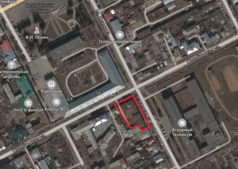 Местонахождение: Челябинская область, г. Троицк, ул. Октябрьская,   90