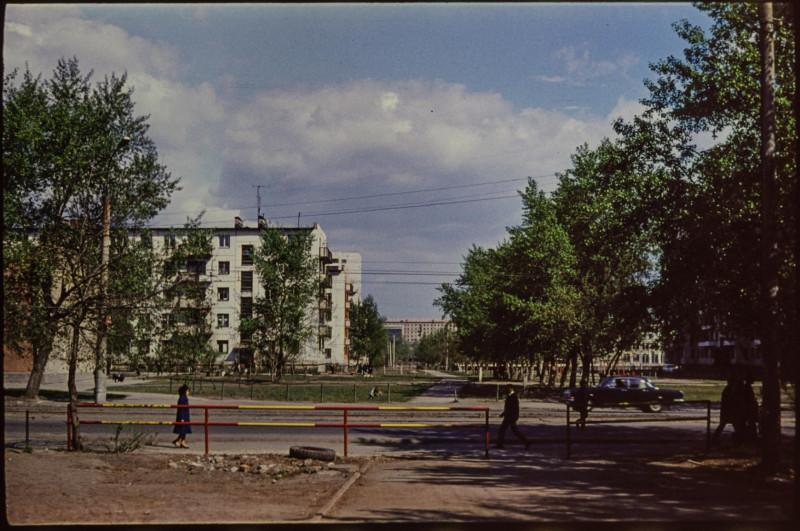 1970-е годы. Перекрёсток улиц Работниц и Кирова