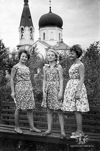 1960-е годы. Сёстры Братановы.