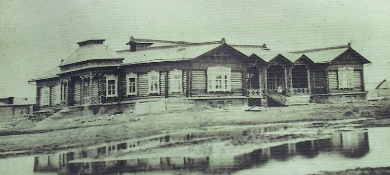 Зимний клуб. Конец  XIX века. Фото предоставлено Д. Белоусовым.