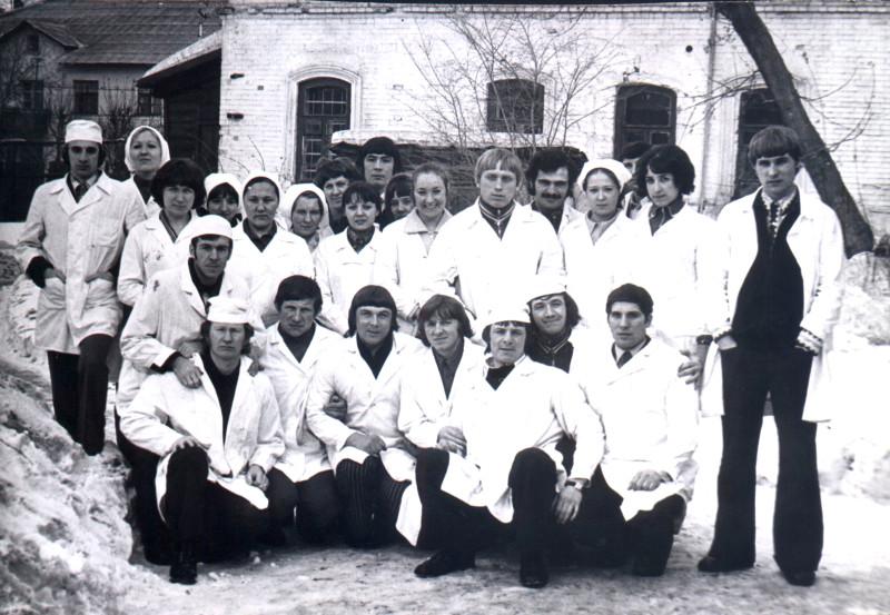 1976 год. Фотография предоставлена Д. Белоусовым