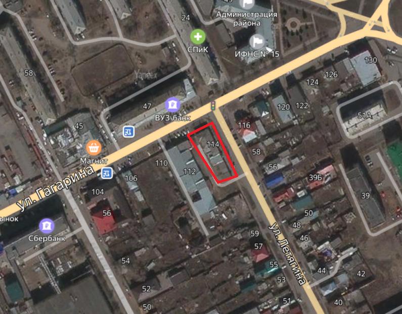 Местонахождение: Челябинская область, г. Троицк, ул. им. Ю.А. Гагарина, 114