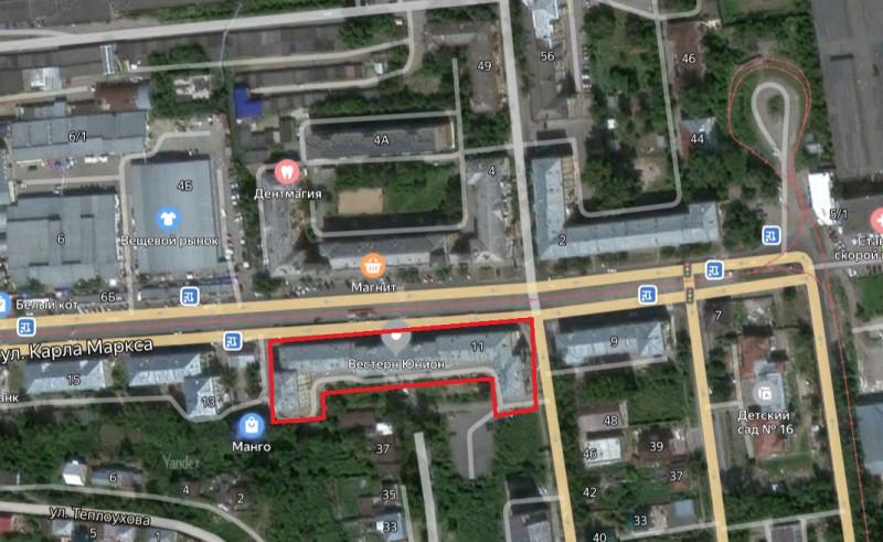 Местонахождение: Челябинская область, г. Златоуст, ул. К. Маркса, 11