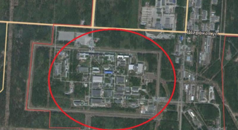 Местонахождение: Челябинская область, г. Снежинск, промплощадка № 9, здание № 125