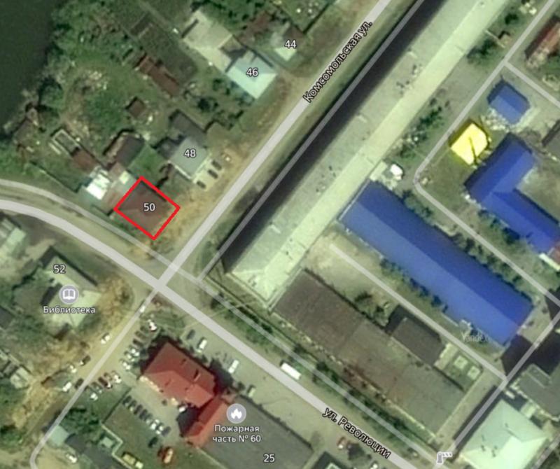 Местонахождение: г. Касли, Комсомольская   ул., 50