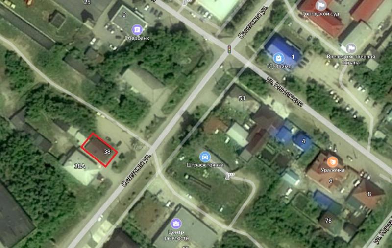 Местонахождение: г. Касли,  Советская   ул., 38 (ранее 38а)