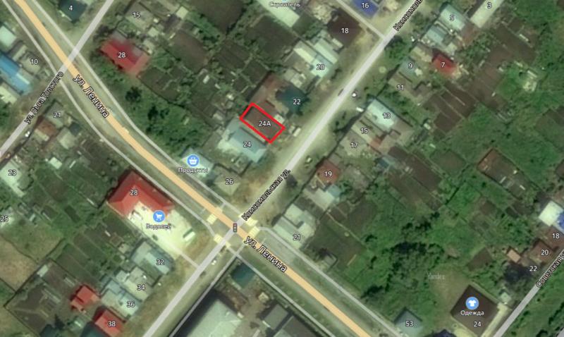 Местонахождение: г. Касли, Комсомольская   ул., 24 (современный номер 24а)