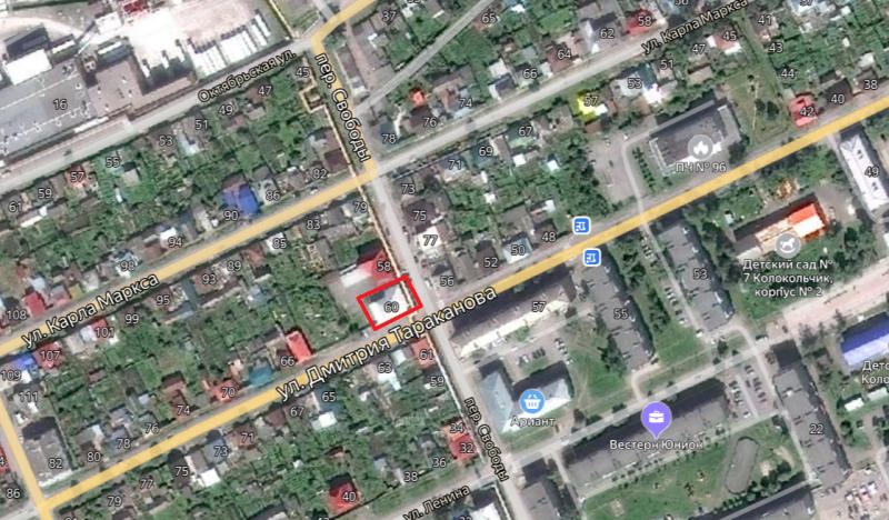Местонахождение: г. Катав-Ивановск, Тараканова Д. ул., 60