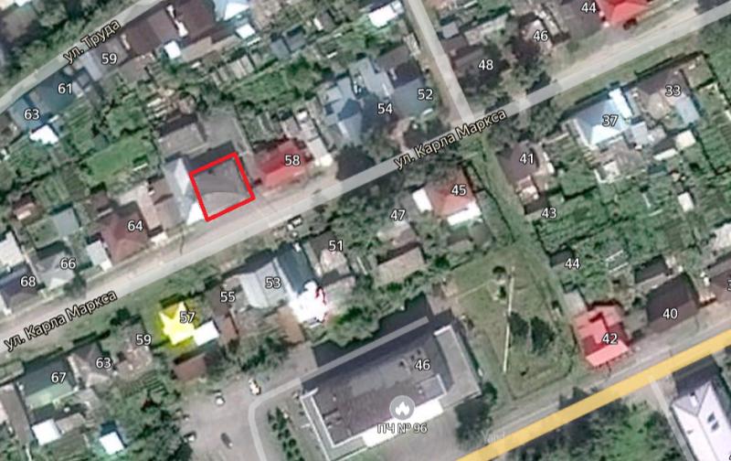Местонахождение: г. Катав-Ивановск,  Карла Маркса ул., 60