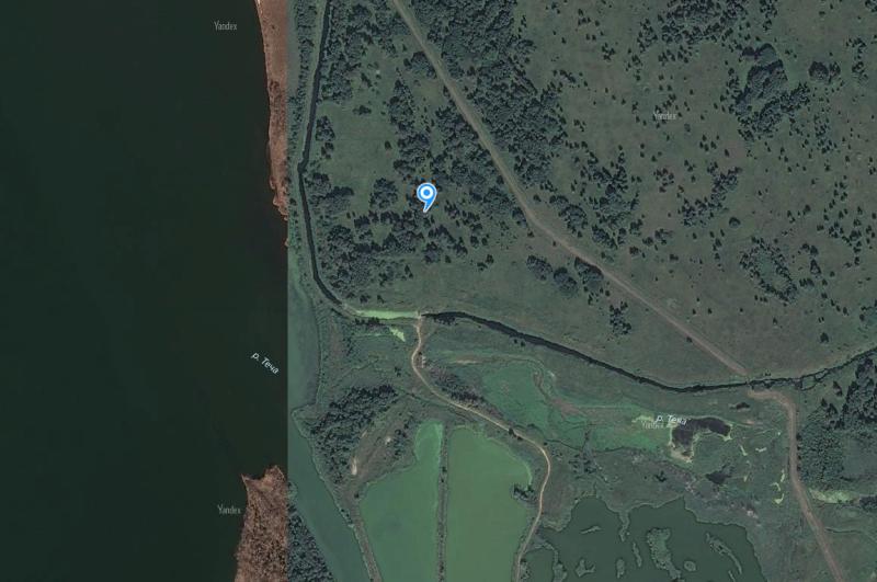 Местонахождение: Озерский городской округ, Восточный берег оз. Кызылташ, северный   (левый) берег природного русла р. Теча, в месте ее истока. Координаты для GPS-навигатора - 55.736667, 60.814444