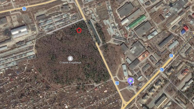 Местонахождение: Озерск г., старое городское кладбище, северный квартал