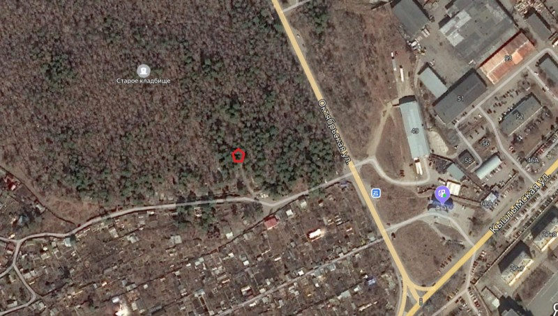 Местонахождение: Озерск г., старое городское кладбище, главная   аллея, слева, 50 м от входа