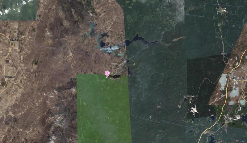 Местонахождение: Нязепетровский муниципальный район, долина р.Уфа, в 0,7км к сев. от устья   р.Шигир