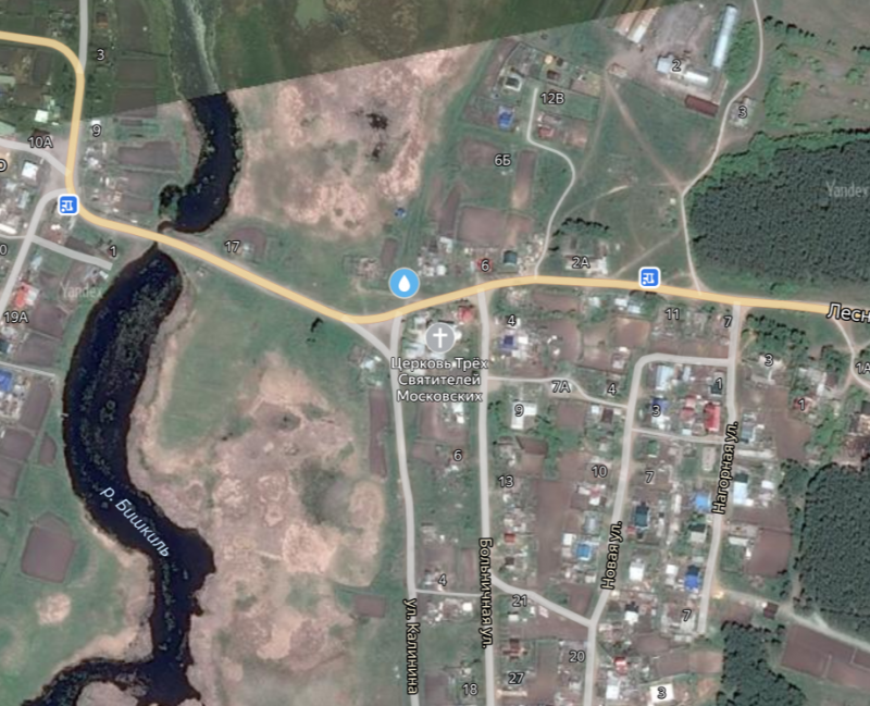 Местонахождение: Чебаркульский муниципальный район, Медведево с.