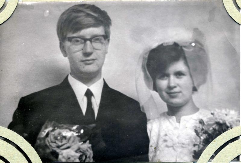 Володя и Таня Моржовы. 13 октября 1971 года