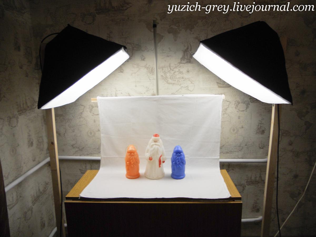 Освещение фотостудии своими руками