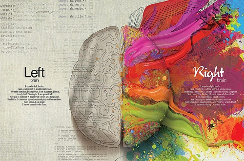 left-right part's of brain