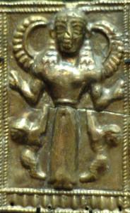 богиня МАТь с рогами