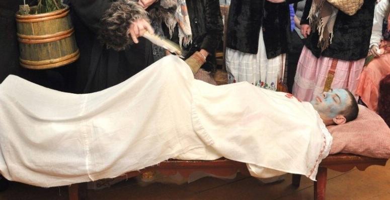 святочный Умрун с шишкой