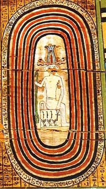 Большая петля реки у долины царей Луксора