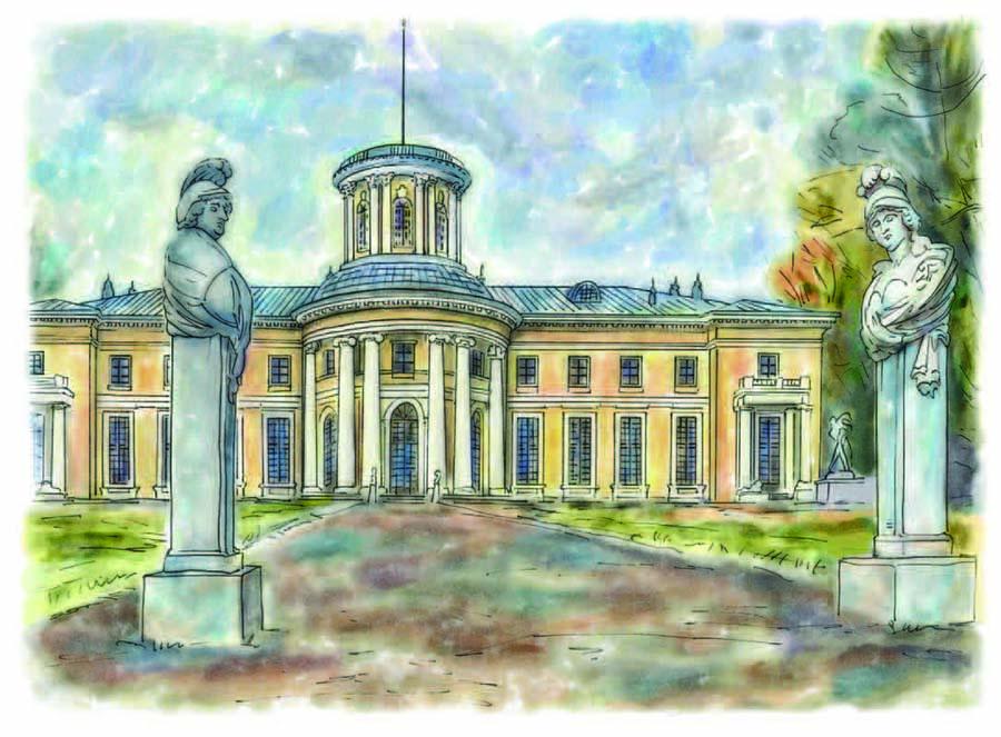 9.Архангельское-дворец