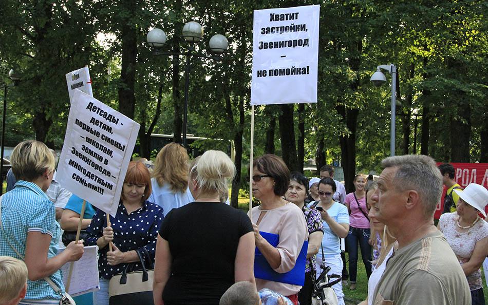 Митинг в Звенигороде (2)