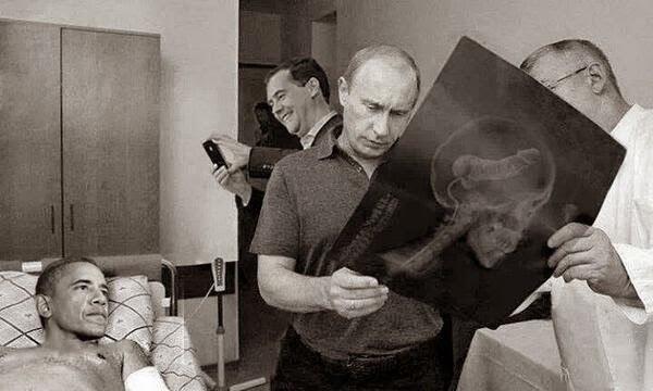 Путин, обама, медведев