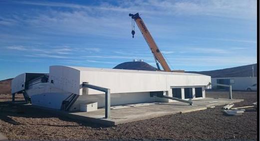Купол обсерватории NGTS