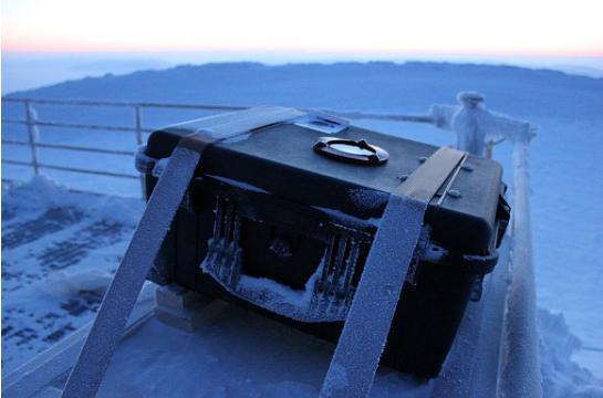 тестирование небольшого телескопа