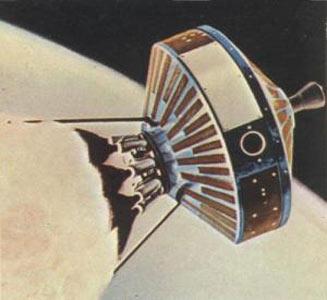 внешний вид зондов Пионер-0, 1, 2