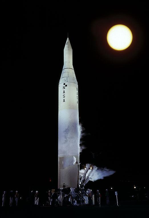запуск Пионер-4 РН Юпитер-2