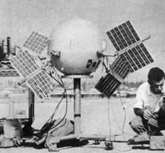 Пионер-5 во время наземных испытаний