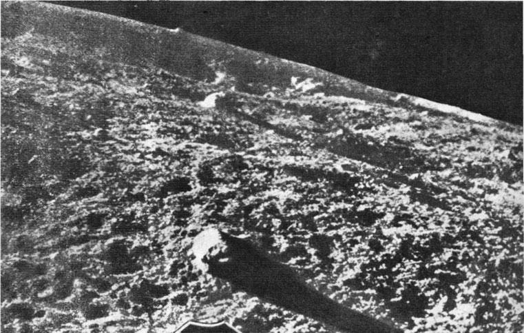 снимок с Луны-9