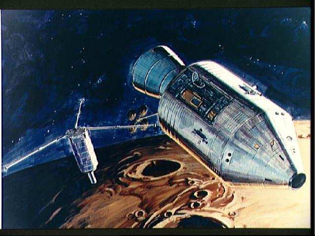 художественное изображение субспутника