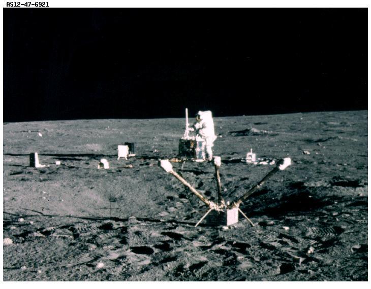 станция ALSER с Аполлона-12
