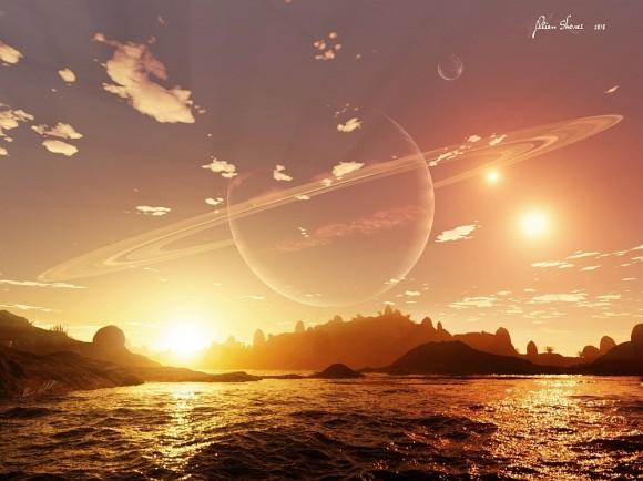 Планета у двойной звезды