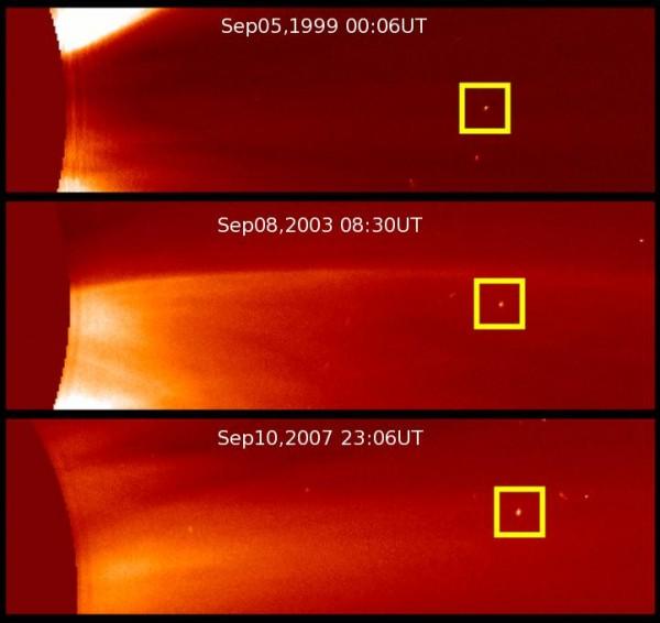 Первая периодическая комета, открытая аппаратом SOHO