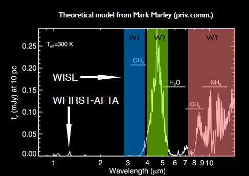 теоретический спектр Y карлика