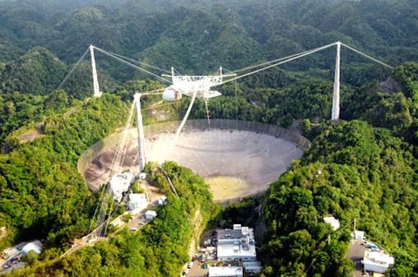 радиотелескоп в Аресибо