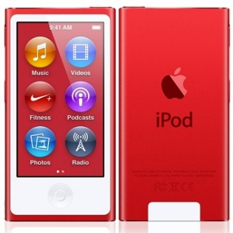 Apple iPod Nano 7G 16Gb RED.800x600