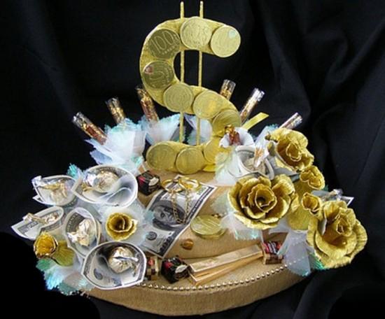 Сладкий букет - букеты из конфет в Донецке, конфеты, оригинальный подарок мужчине