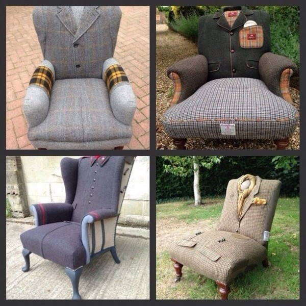 Как из старого стула сделать кресло