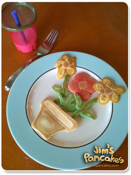 flower-pancakes